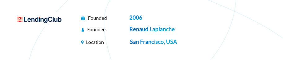 LendingClub p2p lending company
